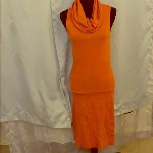 Orange sweater dress🧡🧡🧡🧡🧡